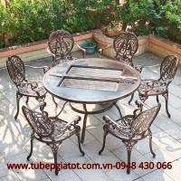 Chuyên cung cấp bàn ghế nhôm đúc nhập khẩu