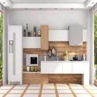 Tủ bếp chữ I mẫu 2