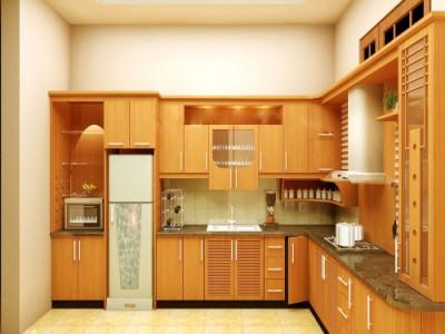 Top 7 tủ bếp gỗ tự nhiên đẹp hiện đại